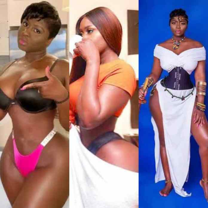 Ghanaian Slay Queen, Princess Shyngle Celebrates 2nd Month Of Not Having S3x