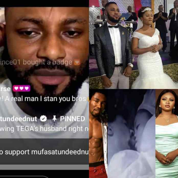 My Marriage With #BBNaija Tega Will Go On Under One Condition, Says Husband [VIDEO]