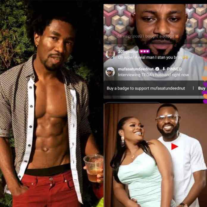 What #BBNaija Boma Told Tega's Husband After Receiving Death Threats