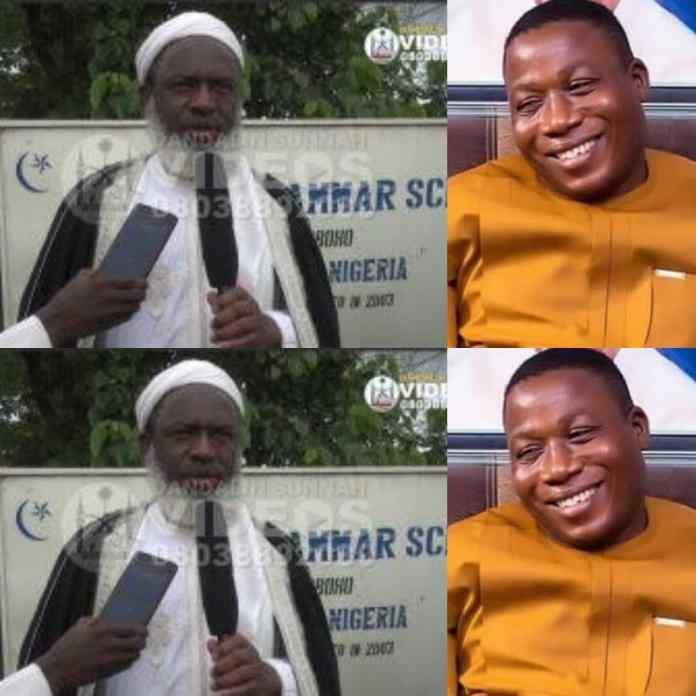BREAKING: Popular Islamic Cleric, Sheik Ahmad Gumi Visit Igboho [PHOTO/VIDEO]