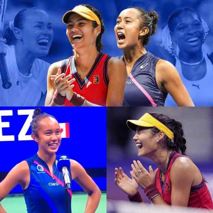 #USOpen2021: Emma Raducanu And Leylah Fernandez Battle For $2.5M In All-Teenage Grand Slam Final