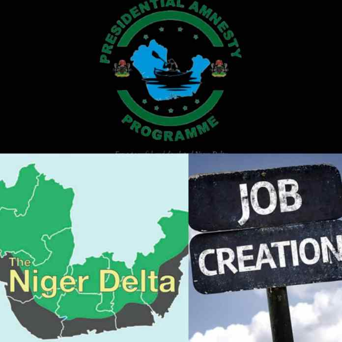Niger Delta Amnesty Programme; Job Creation And Delta State Example