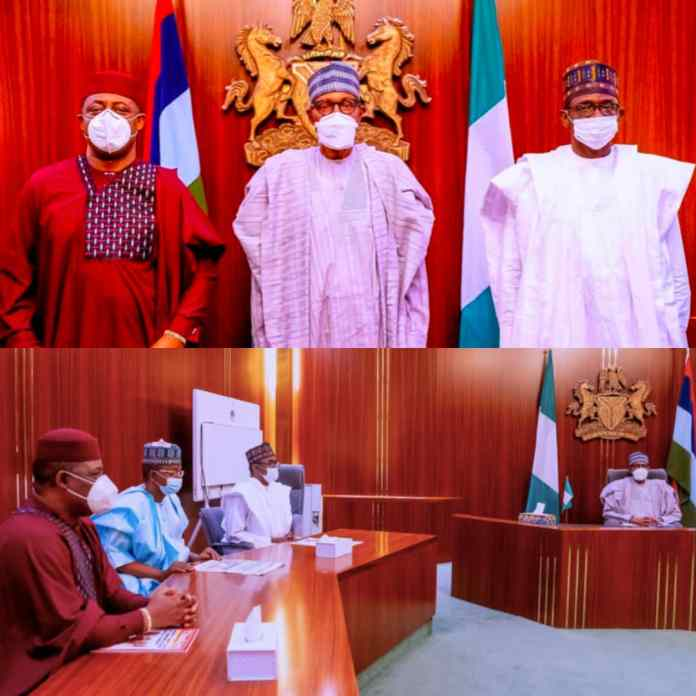 BREAKING: President Buhari Officially Receives Fani-Kayode After Defecting To APC [PHOTOS]