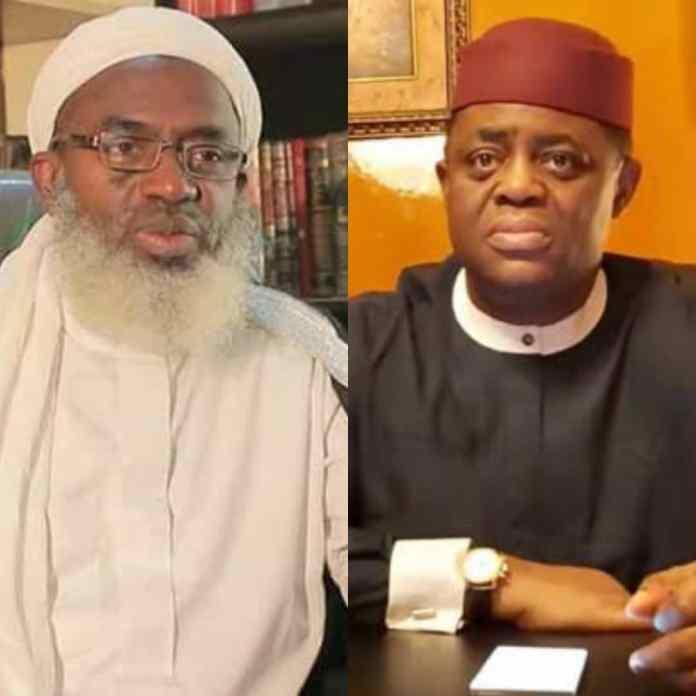 DEFECTION: Sheikh Gumi Says Fani-Kayode Is The Judas Of Oduduwa
