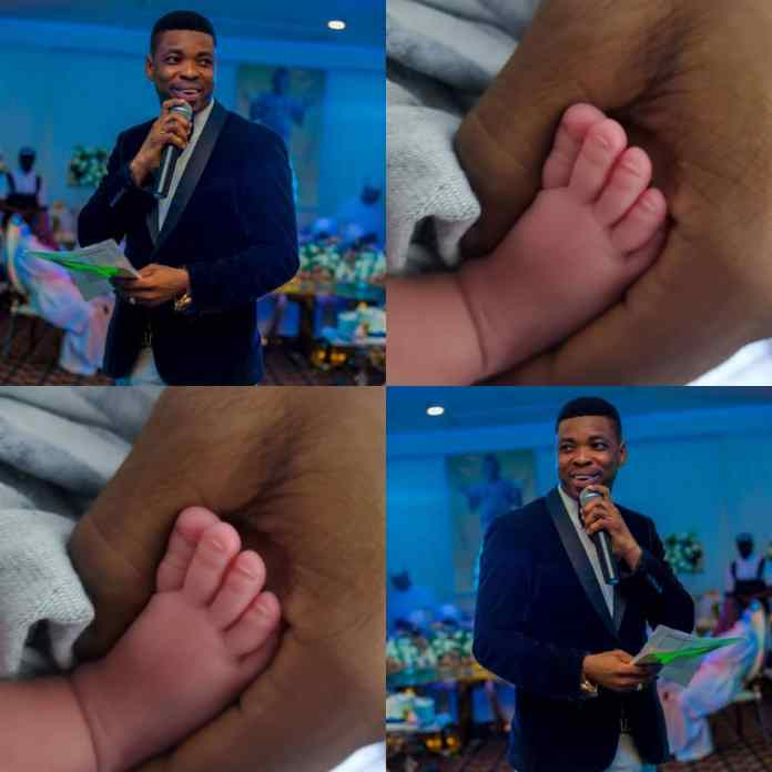 BREAKING: Comedian Woli Agba Welcomes New Born Baby After Losing One Jan 3 [PHOTO]
