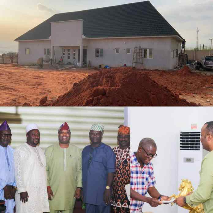 """""""Simawa Police Station To Be Commissioned Before Christmas"""" — Aare Adetola EmmanuelKing [PHOTOS]"""