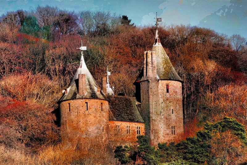 Castell_Coch_frontside_January_midday