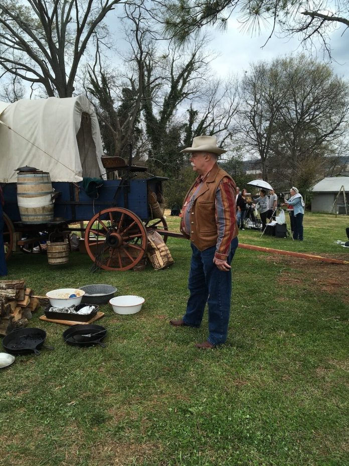 The Southeastern Cowboy Gathering serves up  authentic chuck wagon cuisine