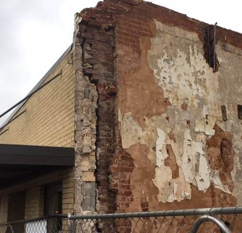 Public safety issues continue after building collapse in downtown LaFayette