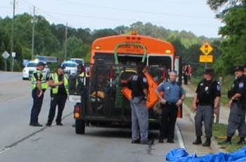 Inmate killed in morning traffic accident