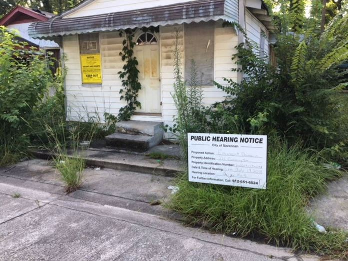 Savannah moves forward with eminent domain on abandoned property where 112 crimes have been reported