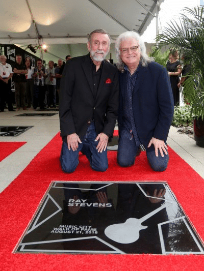 Georgia native Ray Stevens gets star on Music City Walk of Fame