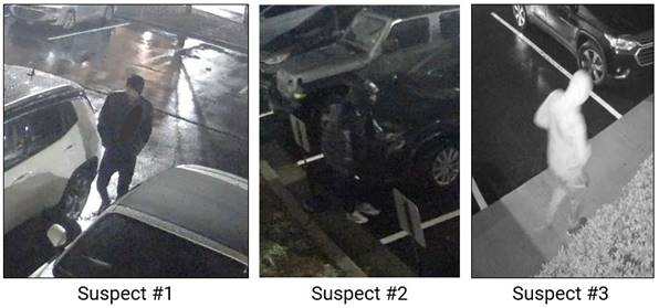 Thieves broke into 26 vehicles in 2 hours during Tuesday morning crime spree