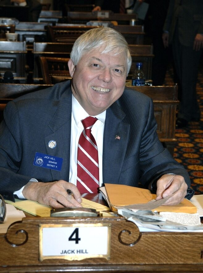 Georgia state senator Jack Hill found dead in his office at 75