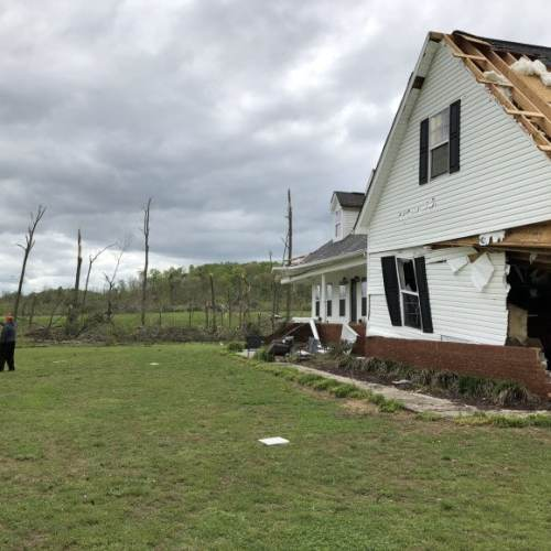 Two dozen homes damaged in Walker County after Easter storms
