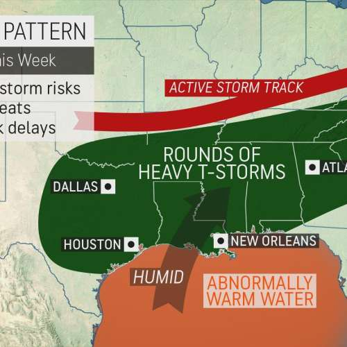 Dangerous storms will continue in Georgia this week