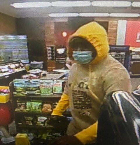 Police search for Georgia man who wore surgical mask during robberies