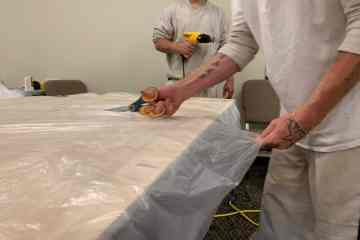 Hall County inmates are making gowns for Northeast Georgia Medical Center