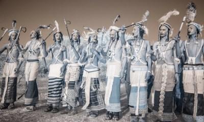 kadınlar için süslenen kabile