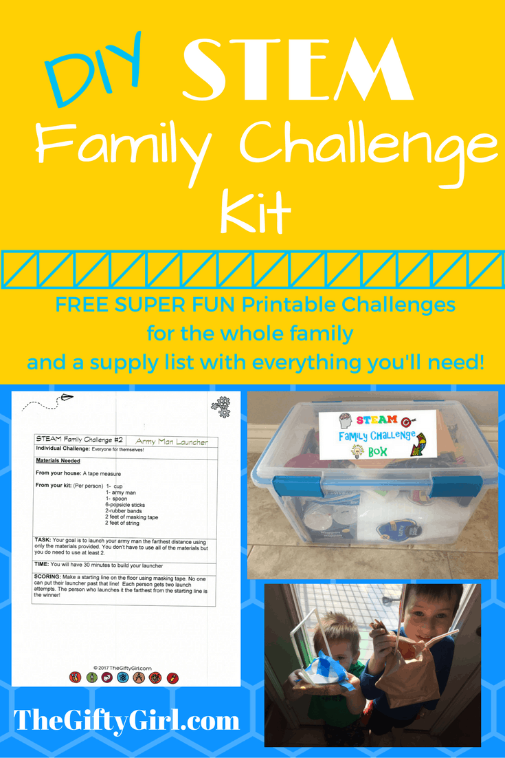 STEM Gift: Family Challenge Box