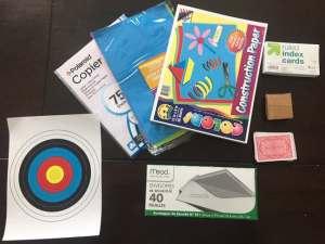 STEM Gift: STEM STEAM Family Challenge box Supplies 3