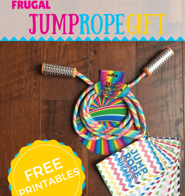 Fast and Frugal Gift idea for kids Jump rope