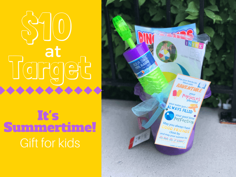 $10 at Target Summertime Gift idea for kids