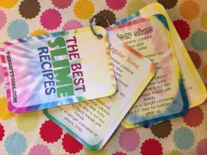 slime recipes for beginner slime kit
