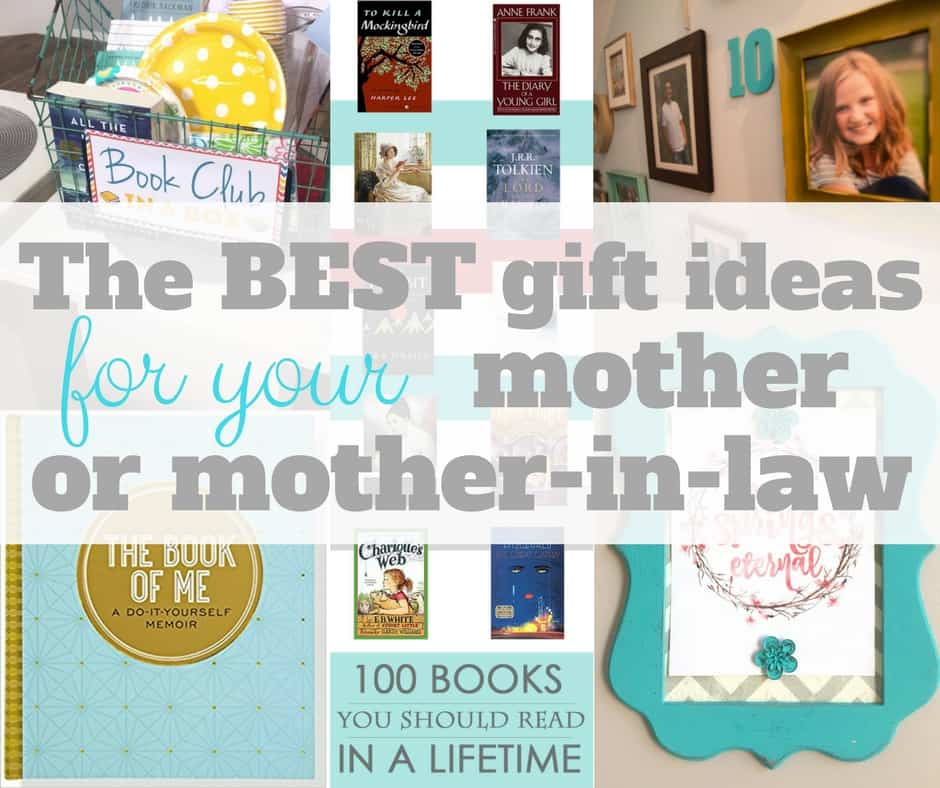 Christmas Gift Ideas For Your Mother In Law: The BEST Gift Ideas For Mothers And Mothers-in-law