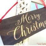 merry christmas sign gift for mother-in-law