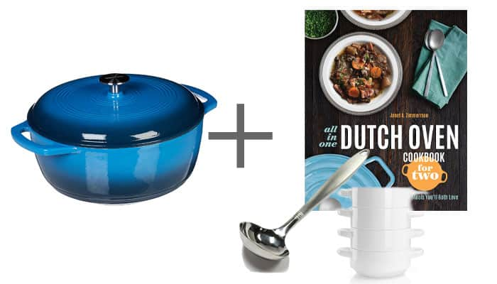 Wedding Gift Dutch Oven Dutch Oven Cookbook Ladle and Soup Bowls