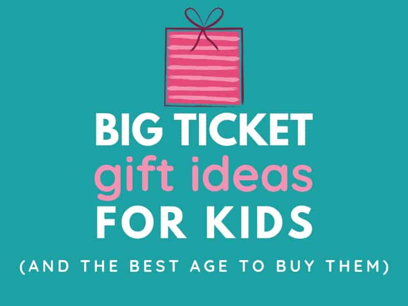 Christmas Gift Ideas For Kids Boys.Big Ticket Gift Ideas For Kids And The Best Age To Buy Them