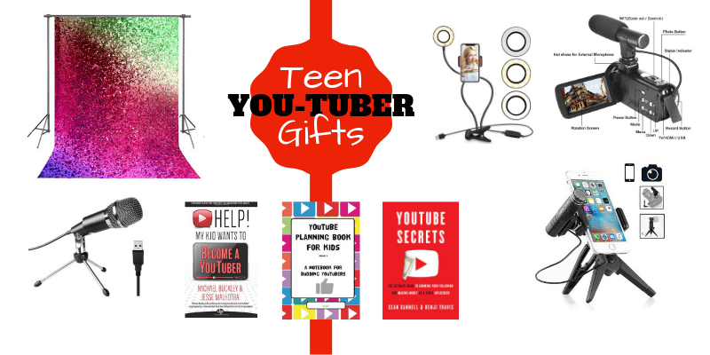 Teen You Tube Creator Gifts Ideas, Youtuber books and products
