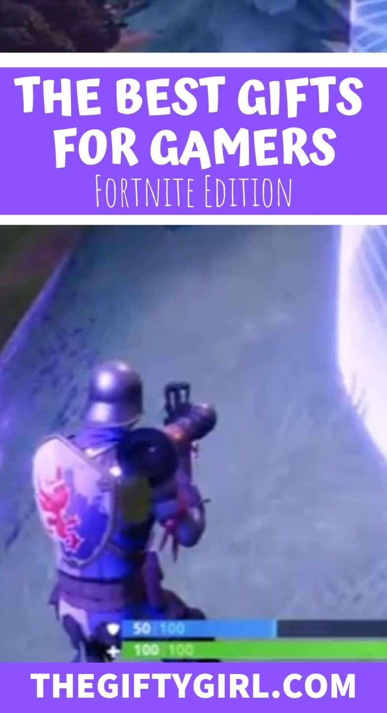 The Best Gifts for Gamers: Fortnite Edition is filled with gaming gifts for boyfriends, husbands, sons, teens who love to play fortnite.