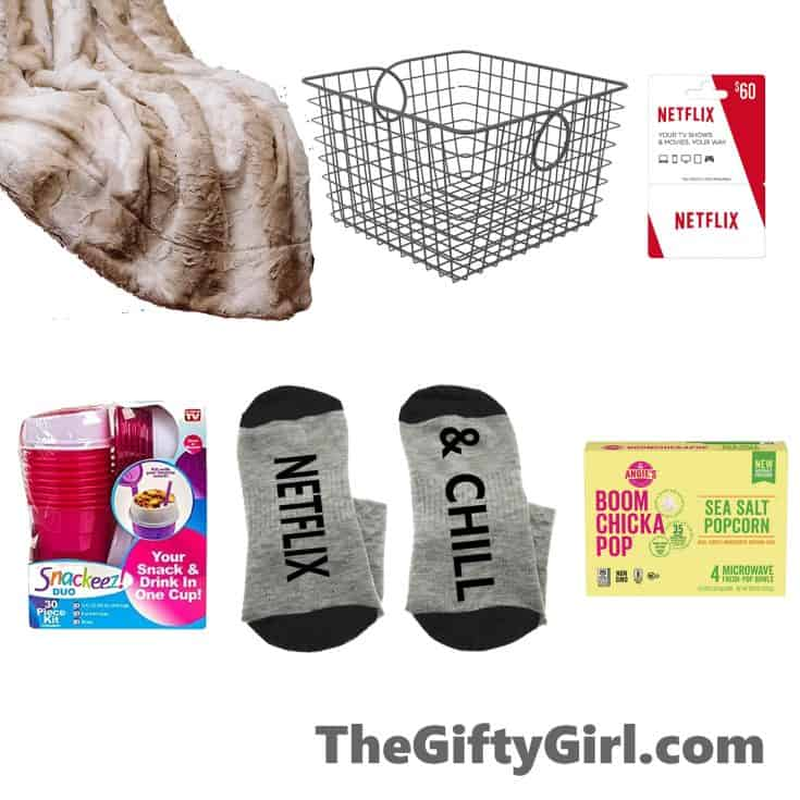 Employee Gift Basket Netflix and Chill
