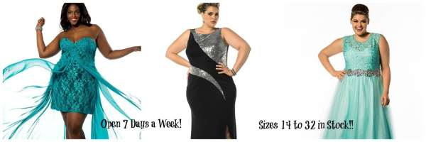 The Gilded Gown - Girls Just Wanna Have Fun Inspo Curvy 2 Prom 2016