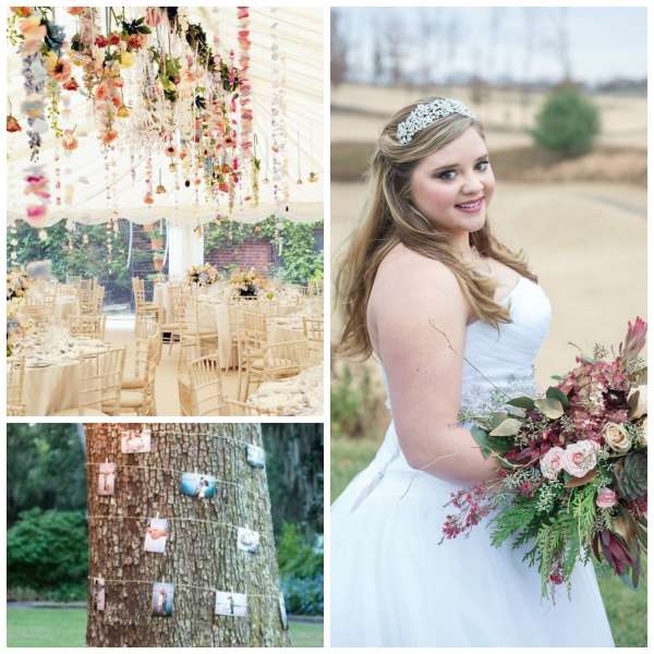The Gilded Gown - Knoxville TN - Boho Wedding Inspo Collage 5
