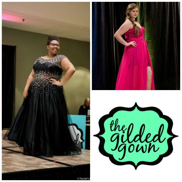The Gilded Gown - Knoxville TN - Curvy Girl Collage 4