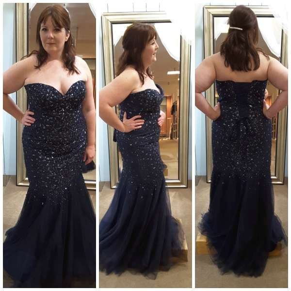 Curvy Girl Alert Lots Of Beautiful Prom Gowns Still In Stock The