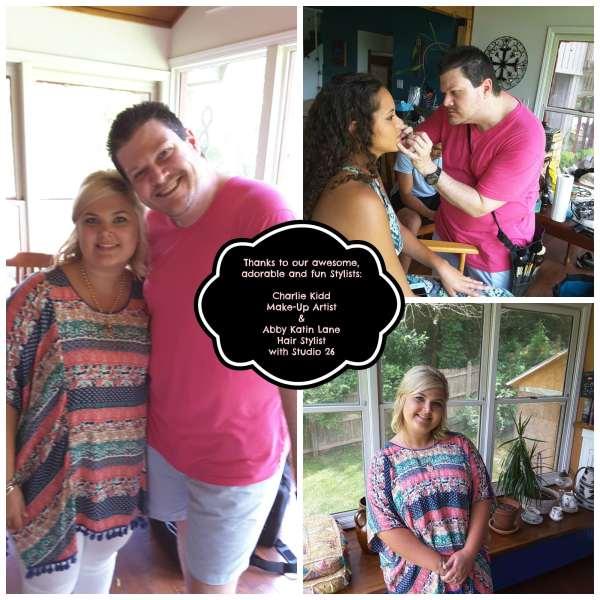 Charlie Kidd Make Up Artist and Abby Katin Lane Hair Stylist