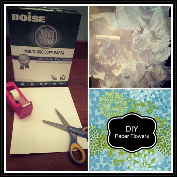 DIY Paper Flowers 1