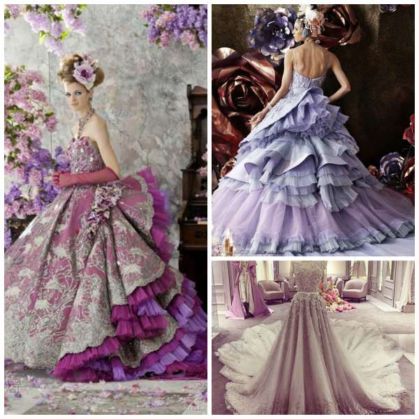 Extravagant Dress Collage 1
