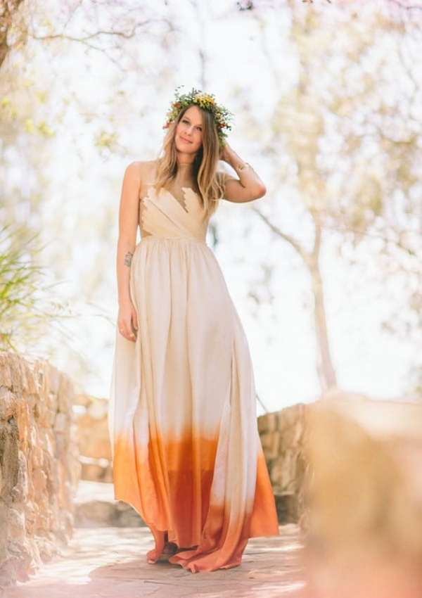 Dip-Dyed Wedding Dresses are Really Cool! | The Gilded GownThe ...