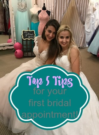 Top 5 Tips for your first bridal appointment ...