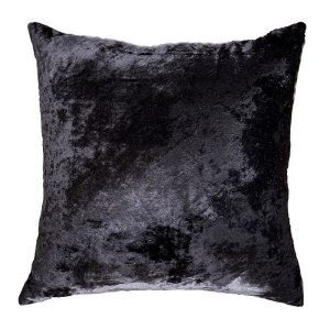 Velvet Black Cushion