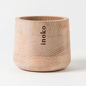Inoko Large Timber Candle Vessel