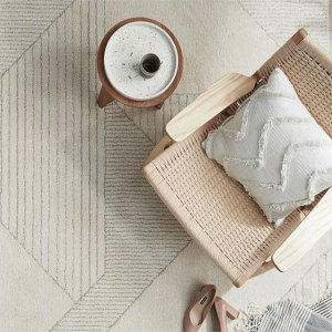 Alpine Natural Geometric Floor Rug