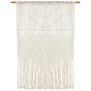 Boho Coastal Fringed Wall Hanging