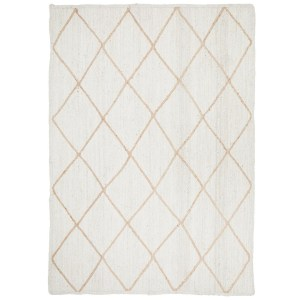 Noosa 222 White Rectangle Floor Rug
