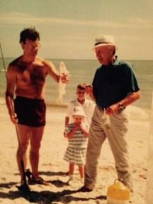 Dad, me, Bob, and Fa